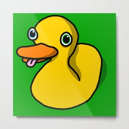 Drunk Duck | Veronica Nagorny Metal Print