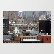 Busy city, NYC Canvas Print