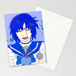 Sailor Mercury/Ami Mizuno Stationery Cards