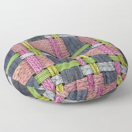 Weaving #19 Floor Pillow