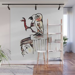 Los Caprichos ~ 53 ~ What a Golden Beak! Wall Mural