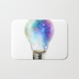 Light up your galaxy Bath Mat