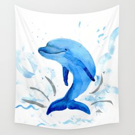 Hi, it's Dolphin Wall Tapestry