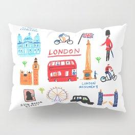 Colorful London Pillow Sham