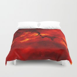 Solar Flare Duvet Cover