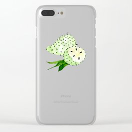 Soursop - Singapore Tropical Fruits Series Clear iPhone Case
