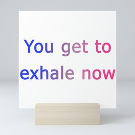 Love, Simon - Exhale Now Mini Art Print