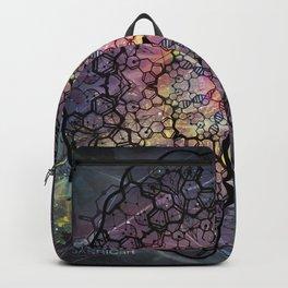 Molecule Mandala Backpack