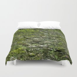 Green wall Duvet Cover