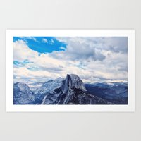 Yellow Stone El Capitan Art Print