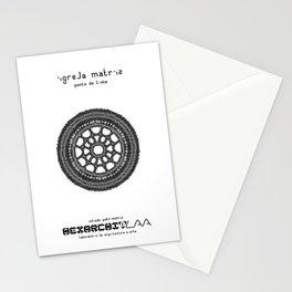 HexArchi - Portugal, Ponte de Lima, Igreja Matriz . Rosácea Stationery Cards