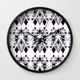 Geometric pattern.3 Wall Clock