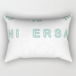 Bill Nye's Official Science is Universal T-Shirt Rectangular Pillow