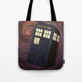 Doctor Who TARDIS Tote Bag
