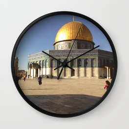 Dome of the Rock x Photo Wall Clock