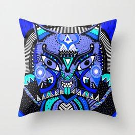 LISHKA BLUE Throw Pillow