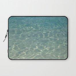 simply clean sea water Laptop Sleeve