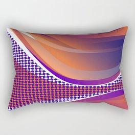 Curves 02 Rectangular Pillow