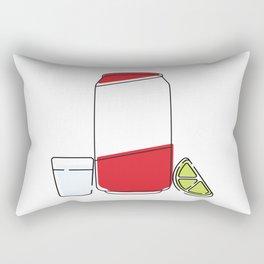 Tecate & Tequila Rectangular Pillow
