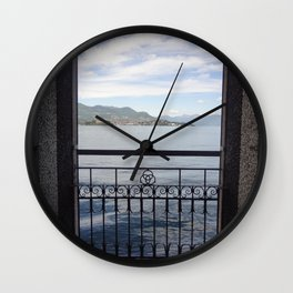 Isola Bella Wall Clock