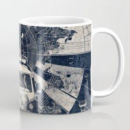 vintage voyager world map Coffee Mug