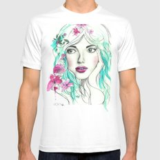 Ice Queen Mens Fitted Tee MEDIUM White