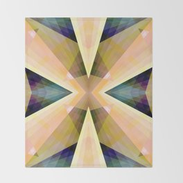 Geometric Mandala 03 Throw Blanket