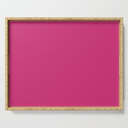 Fuchsia Pink - Solid Color Collection Serving Tray