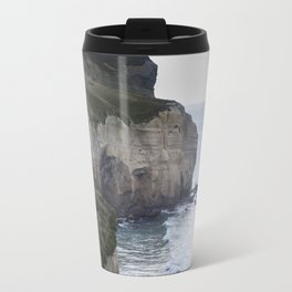 Tunnel Beach Travel Mug