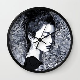 After The Dawn Wall Clock