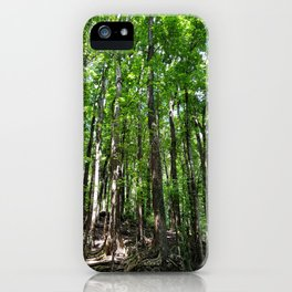 Man Made Forest iPhone Case