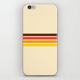 African Retro Stripes iPhone Skin