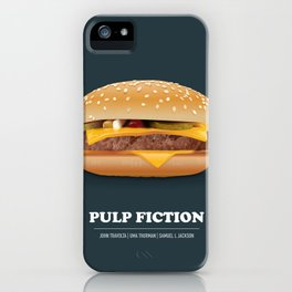 Pulp Fiction - Alternative Movie Poster iPhone Case