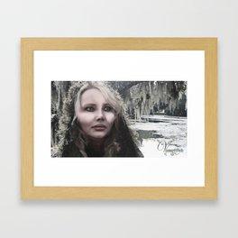 "VAMPLIFIED ""Frostbite"" Framed Art Print"