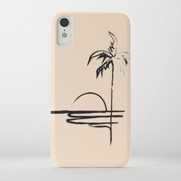 Abstract Landscpe iPhone Case