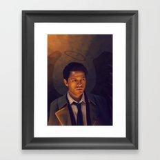 Castiel - Supernatural Framed Art Print