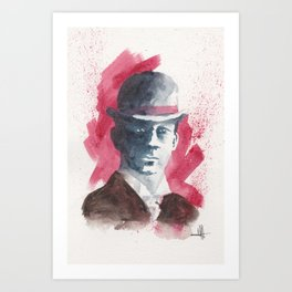 the name's jack Art Print