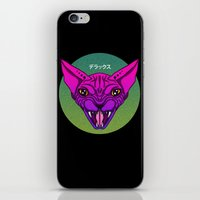 sphynx iPhone & iPod Skins featuring SPHYNX by SHIN DE☆LUXE