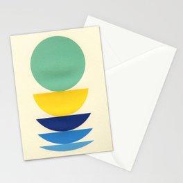 Five Circles Stationery Cards