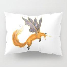 Watercolor Fairy Fox Pillow Sham