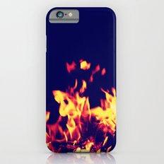 Blue Fire Slim Case iPhone 6s