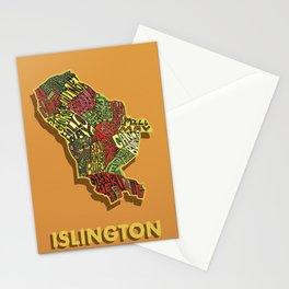 Islington - London Borough - Colour Stationery Cards