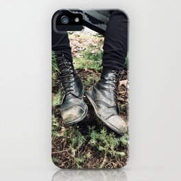 Hiking in the Woods iPhone Case
