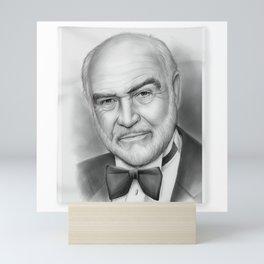 Sean Connery - SIR THOMAS SEAN CONNERY Legendary Scottish Actor Producer Hollywood Film 1 Mini Art Print