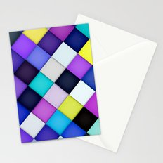 Quilted with Halftone Stationery Cards