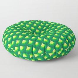 Dragon's Green Armor Floor Pillow