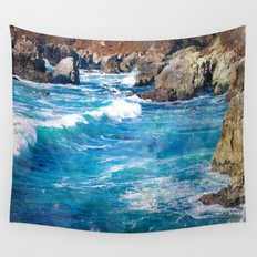 Pacific Blue Wall Tapestry