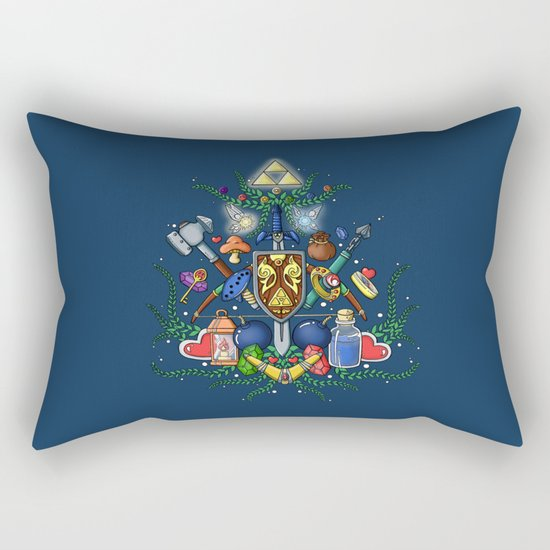 the legend of zelda Rectangular Pillow by Lindow Society6