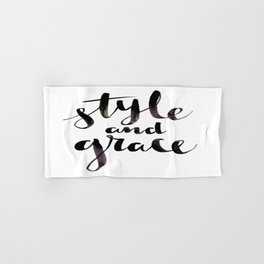Style and Grace Hand & Bath Towel