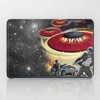 ufo iPad Cases featuring UFO by Keka Delso